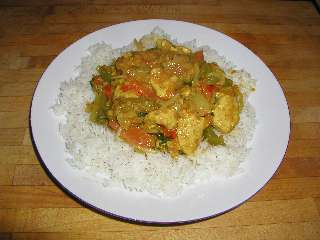 Basic Chicken Curry